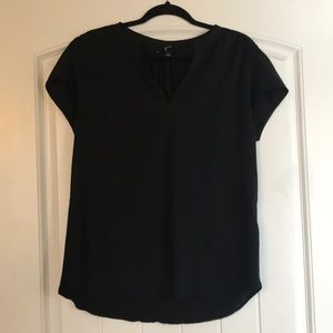 Guru Black V-Neck Shirt